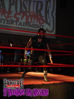 Jack Jester Wrestling in Cardiff