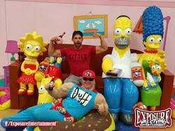 Robbie E Simpsons Sofa