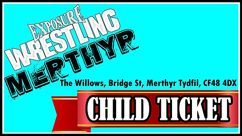 Merthyr Child Ticket: 22/11/20