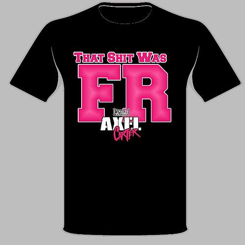 Axel Carter F.R. Tshirt