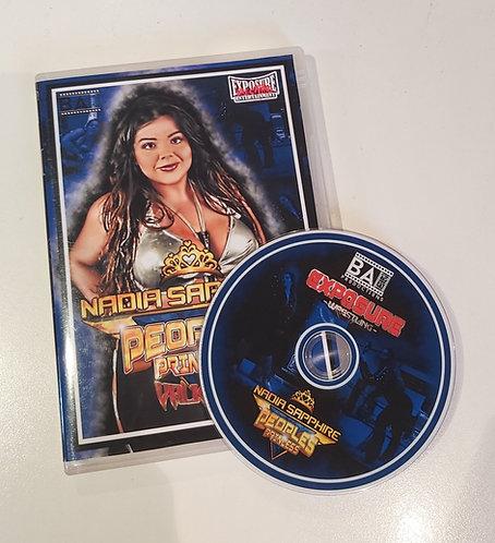 Nadia Sapphire DVD