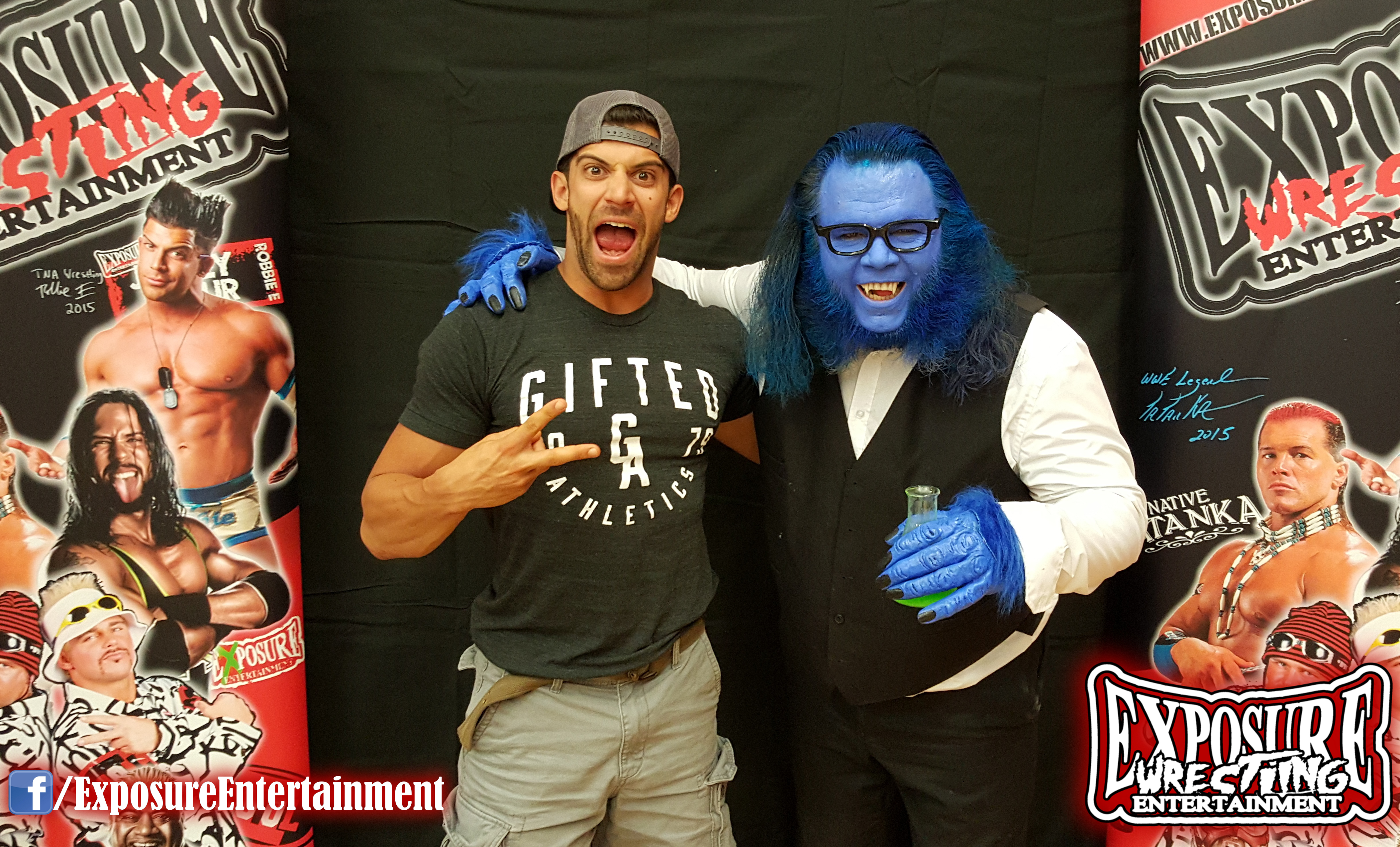 Robbie E Meets The Real McCoy