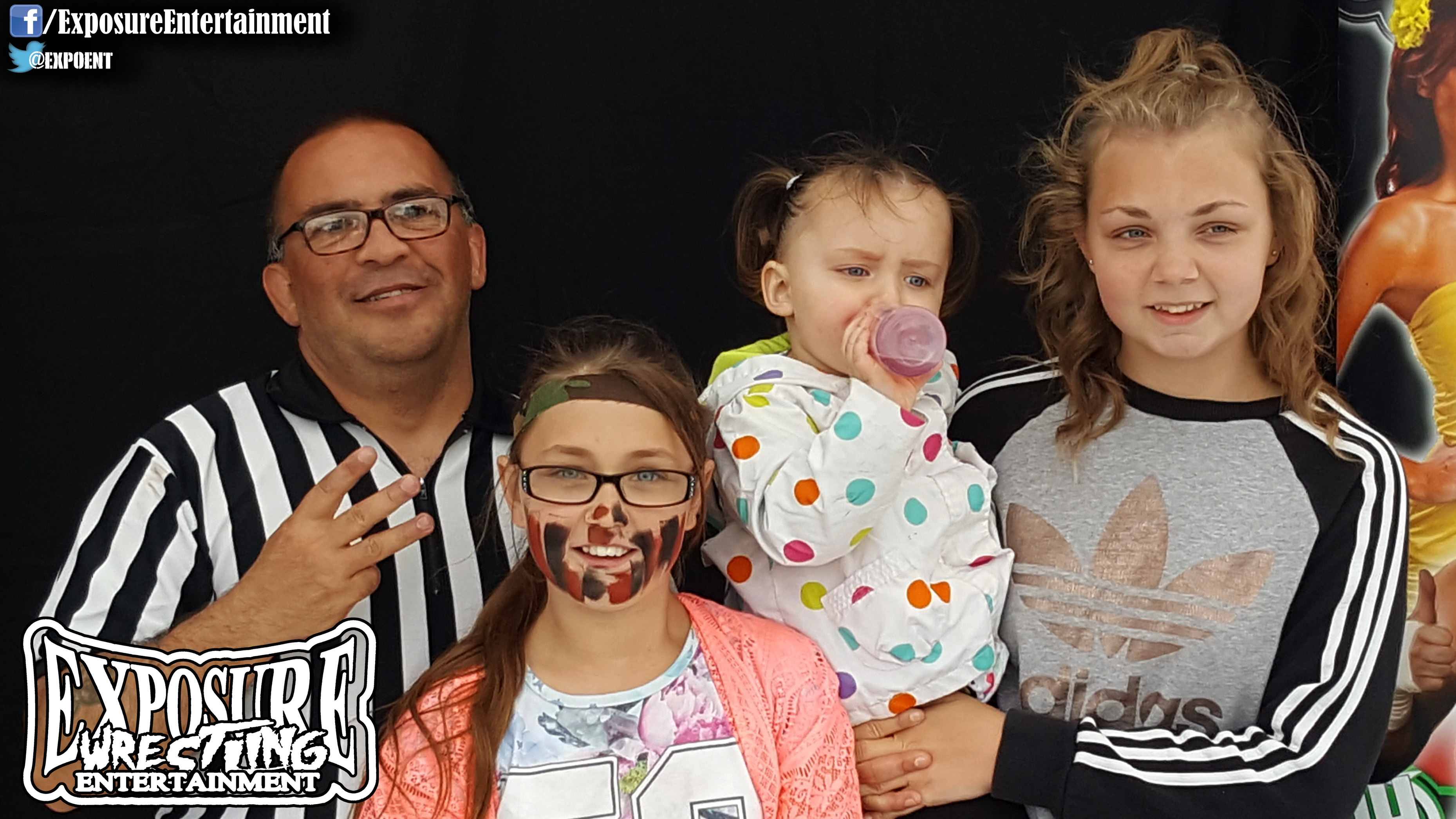 Referee Randy & Fans