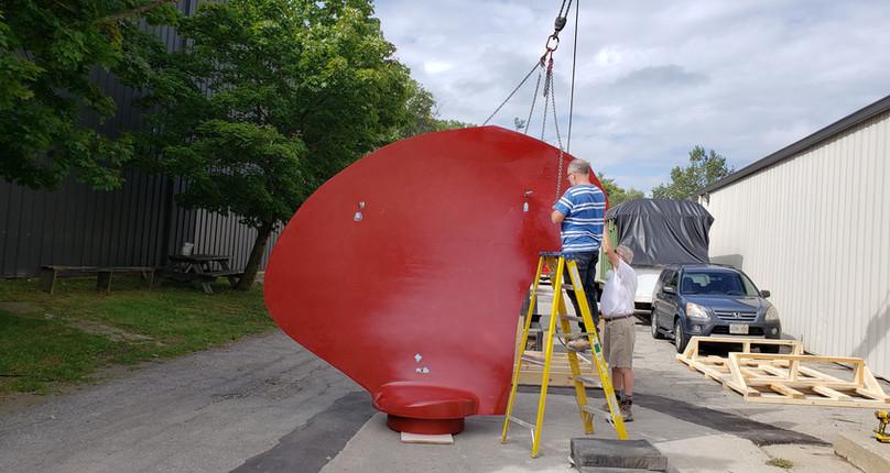 Right Propeller Blade for Shipbuilding Industry