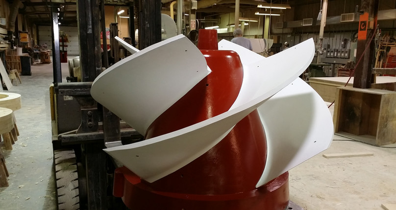 Open Faced Impeller with Loose Blades