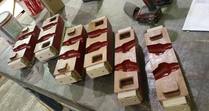 Pin Core Boxes