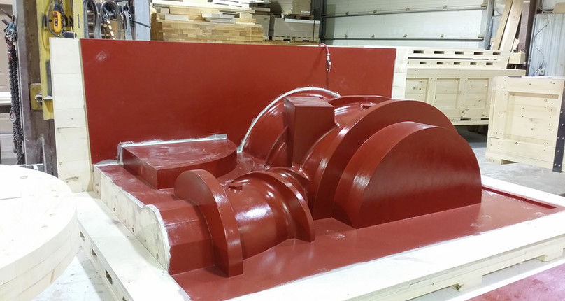 Core Box for Large Pump Core Assembly