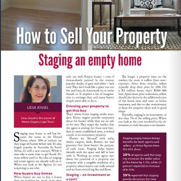 Stage my Empty Property