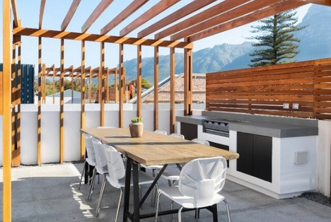 Penthouse patio: AFTER
