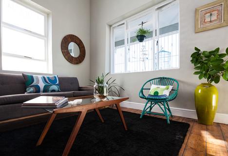 Retro Living Room: AFTER