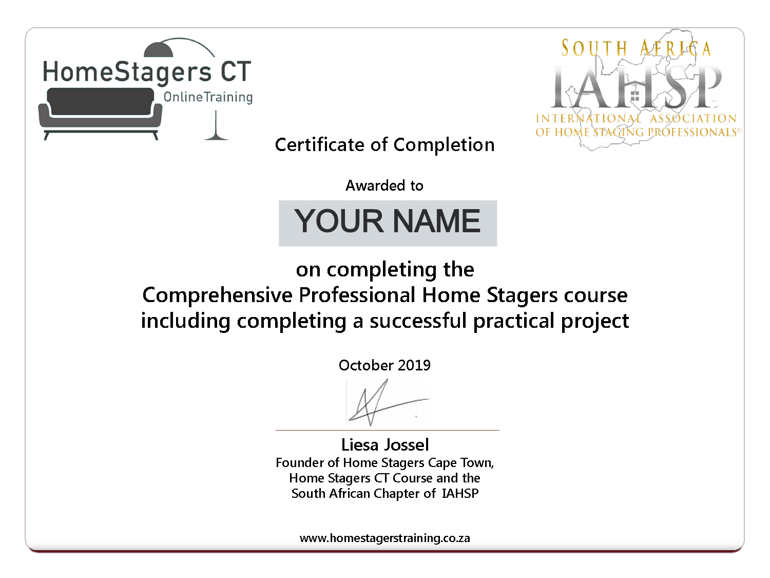 Earn your certificate (Business Course)
