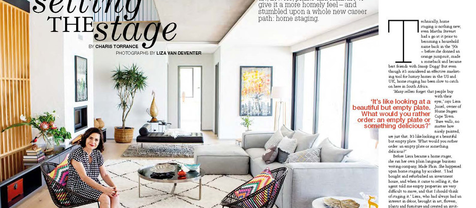 Are home stagers in demand in South Africa?
