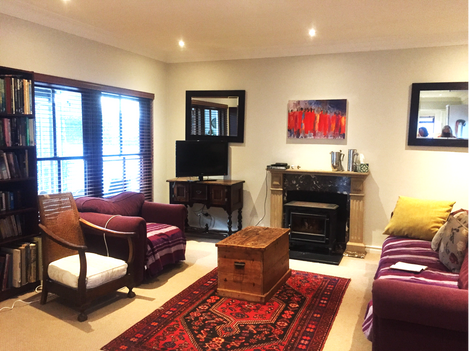 Living room: BEFORE restyling