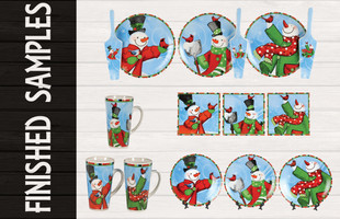 Christmas Product Design Finished Samples