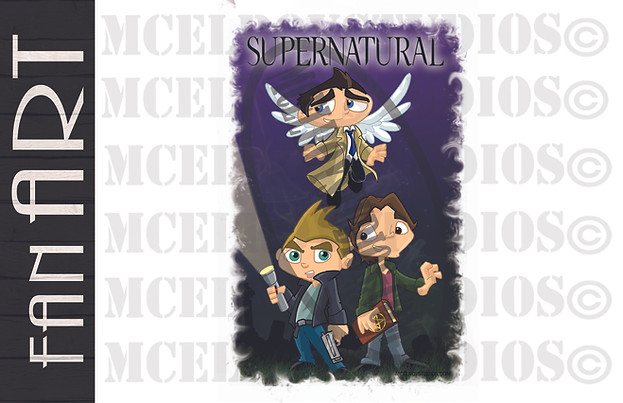 Supernatural with Castiel