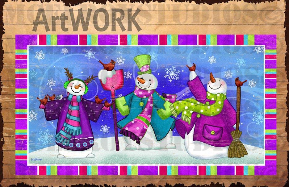 SNOWMEN ART copy