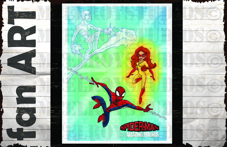 SPIDERMAN AND AMAZING FRIENDS copy