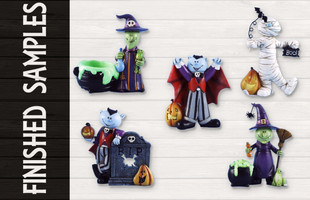 Halloween Product Design Finished Samples