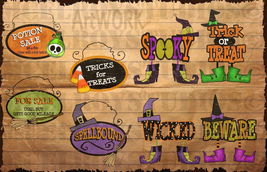 halloween monsters 1 artwork copy