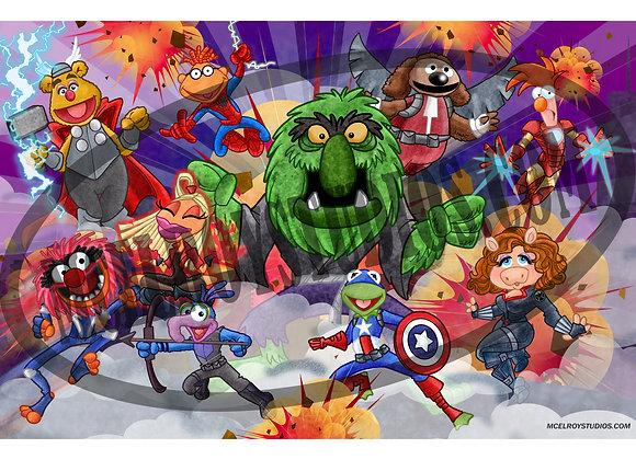 Muppets Avengers