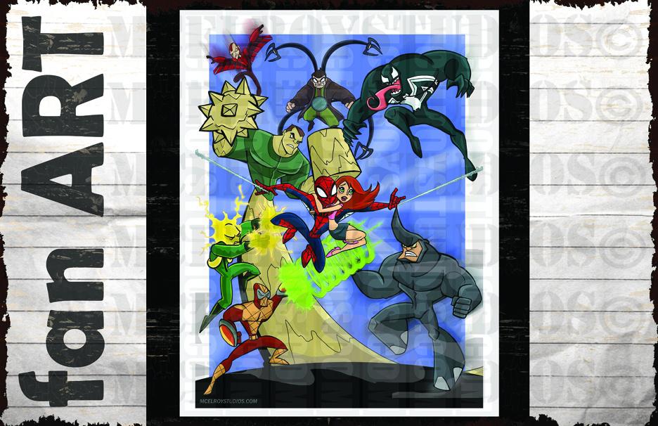 SPIDERMAN VS SINISTER 7 copy
