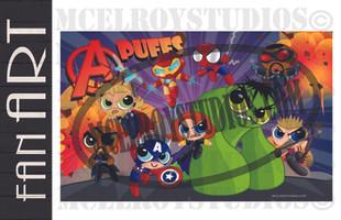 Avengers Puffs