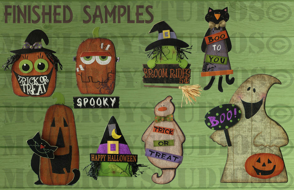 halloween samples copy