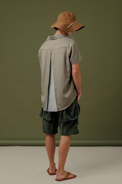 Camisa MC SBSCO Calvin Prega nas costas verde