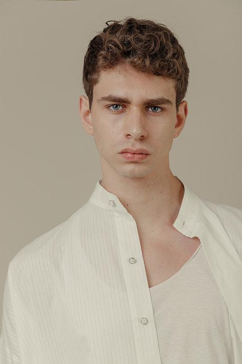 Camisa SBSCO Mid em Tricoline 100% algodão marca d'água