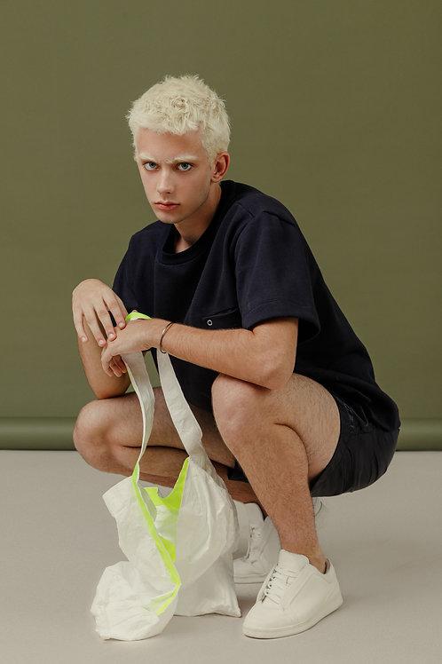 Bolsa Tykev Branca e Neon