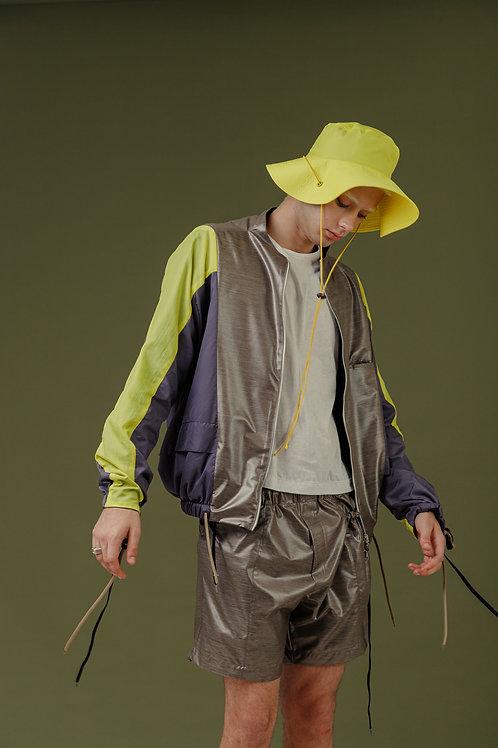 Shorts Nylon SBSCO Mescla com Esláticos ajustáveis no bolso