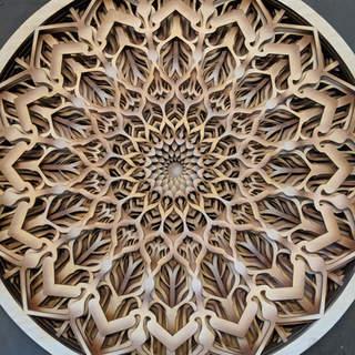 Infinite Zoom - Mandala Art