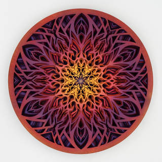 Circle of Existence - Mandala Art