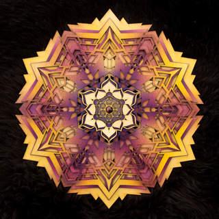 Beyond Light - Mandala Art Yellow