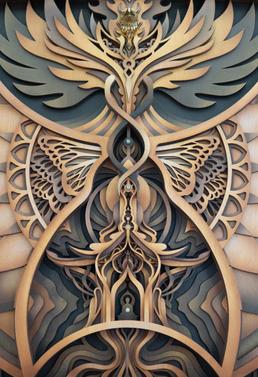We Rise - Lasercut Art