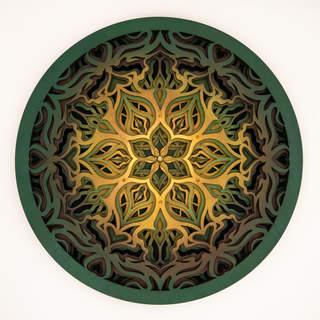 Endless Bloom - Mandala Art