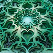 Heart Centered - Mandala Art