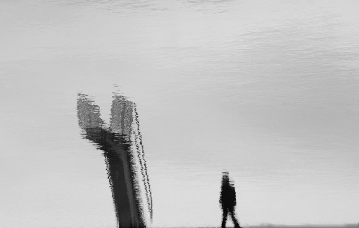 l homme et le plongeoir