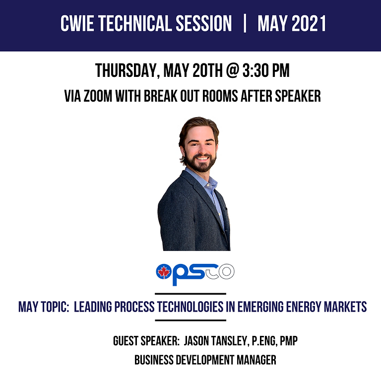 May 2021 Technical Session