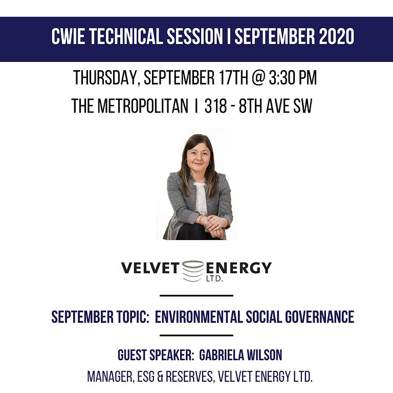 September Technical Session