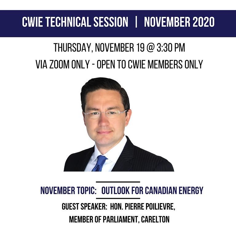 November 2020 Technical Session