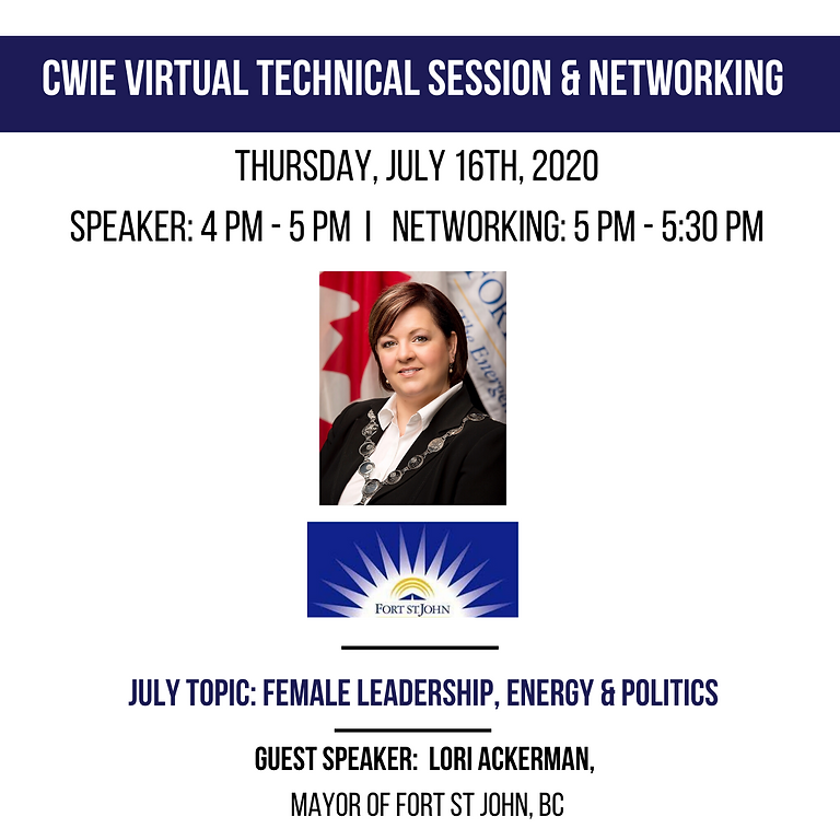 July Virtual Technical & Networking Session