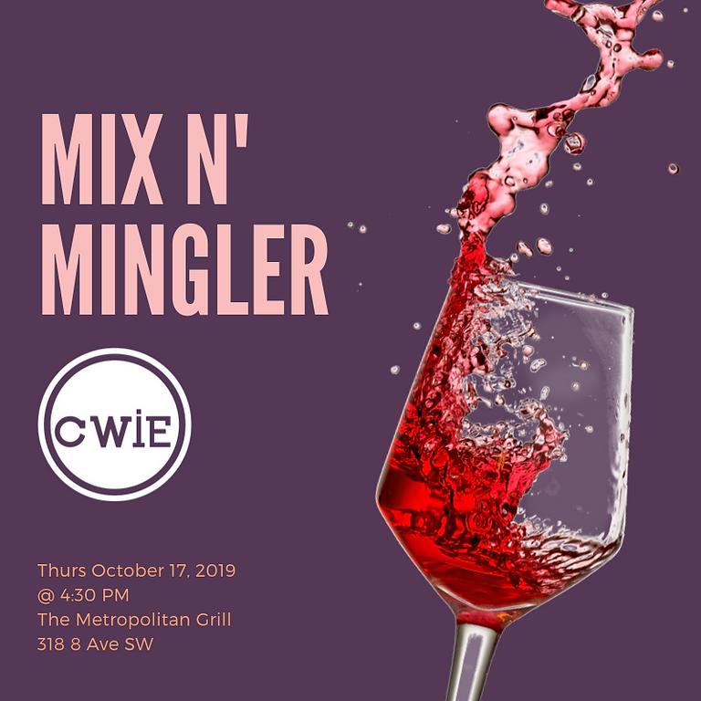 October 2019 Mix n' Mingler