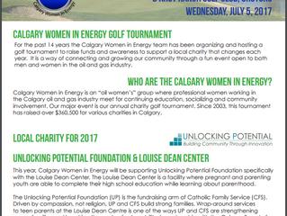 CWIE Charity Golf Tournament Sponsorship Information