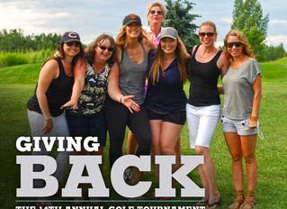 Giving Back - The 14th Annual Golf Tournament
