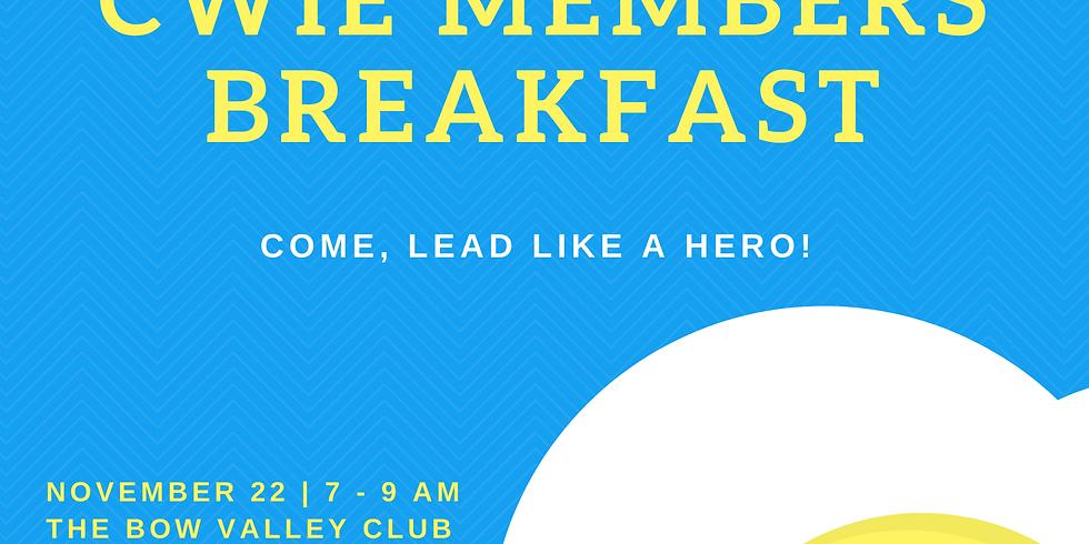 November CWIE Members Breakfast