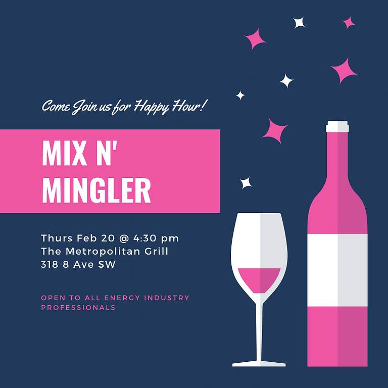 February Mix 'n Mingler