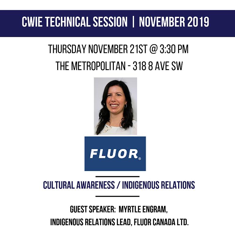 November 2019 Technical Session
