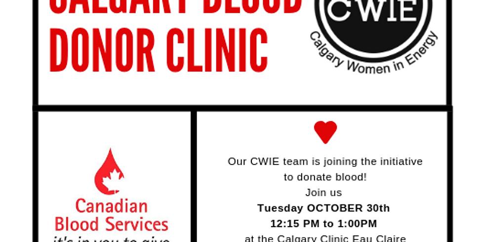 CWIE BLOOD DONATION