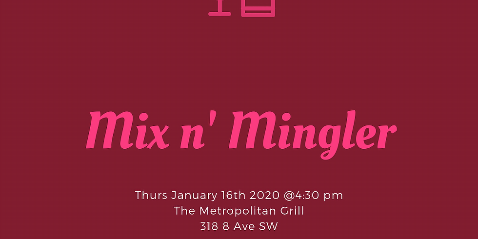 First Mix n' Mingler of 2020!
